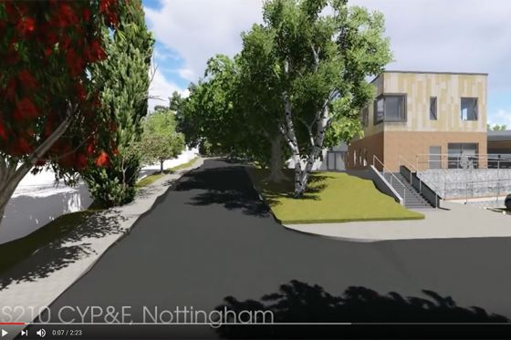 New Adolescent Mental Health Facility in Nottingham